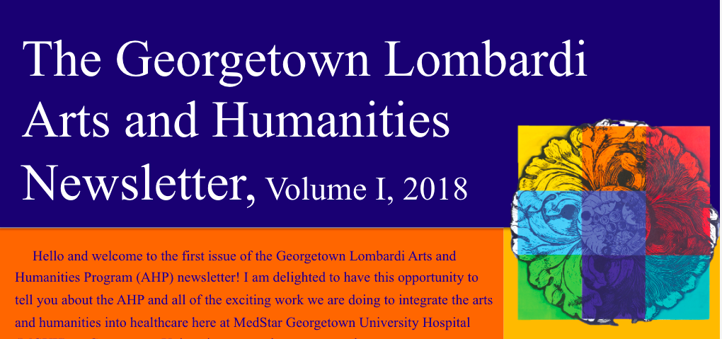 Image of Georgetown Arts and Humanities Newsletter