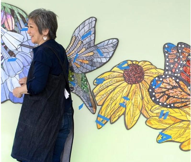 Healing hello for patients and visitors at new Hampden Medical Center: Art